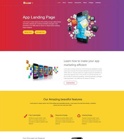 Html5 resume template free